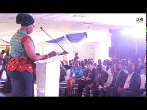 Hon Ursula Owusu-Ekuful: Tech in Ghana Conference Accra 2017