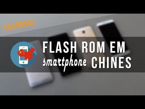 Como fazer FLASH ROM em celulares da China | Instalando