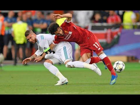 Insiden M.Salah vs R.Ramos