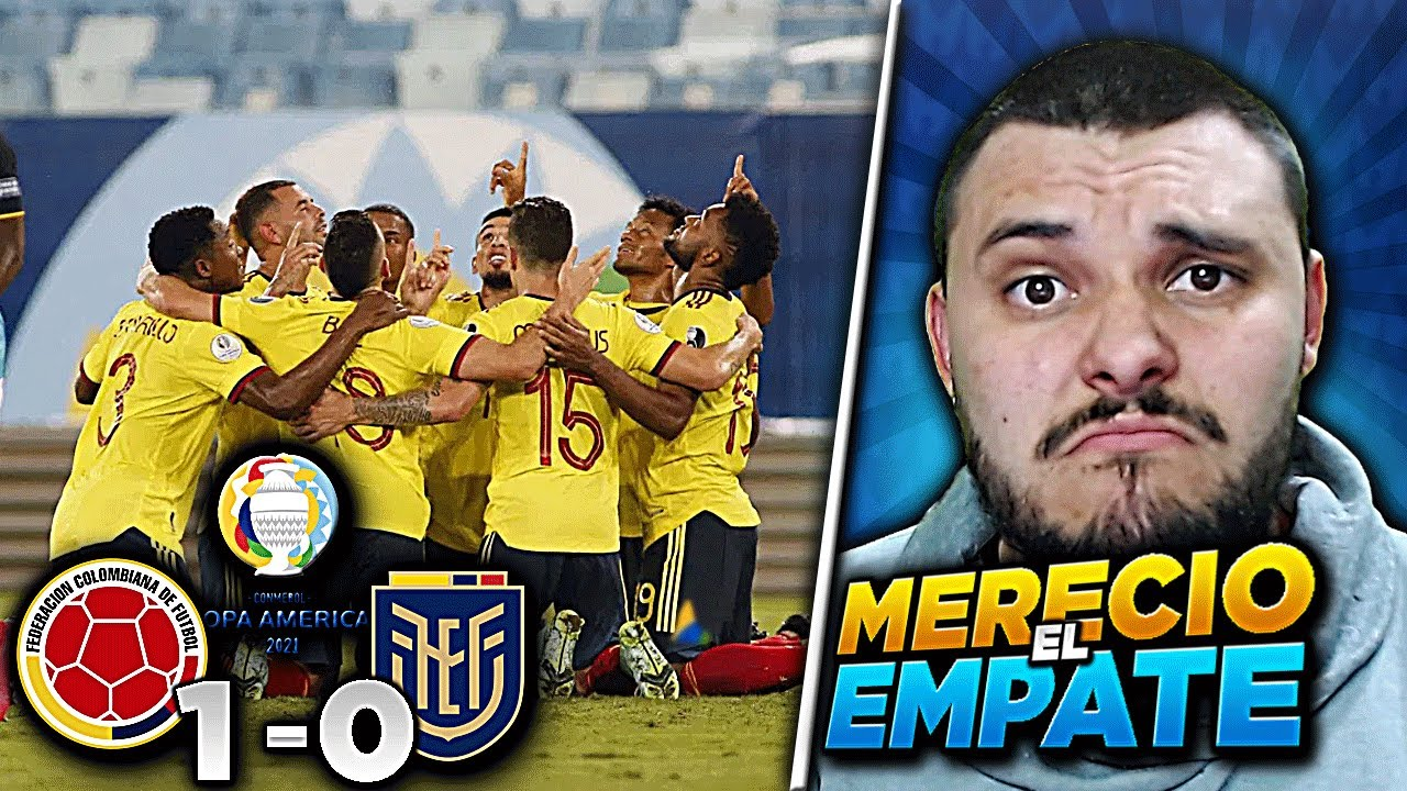 🚨COLOMBIA (1) Vs (0) ECUADOR | COPA AMERICA 2021🏆 | Ecuador Merecio EMPATAR | Falso Nueve