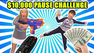$10,000 Pause Challenge - Last to Move Wins!