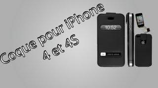 Coque pour iPhone 4 et  iPhone 4S