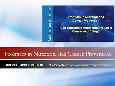 Cancer and Aging Overview: Would Better Nutrition Help Us to Age More Slowly?