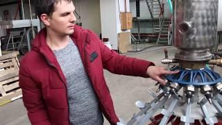 43/Полуавтомат XRB-16/изобарический принцип розлива, максимально сохраняет насыщенность жидкости СО2