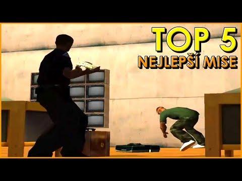 5 nejlepších misí v GTA San Andreas