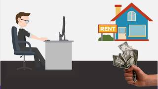 How To Online Calculate house rent allowance for tax rebate [Hindi]