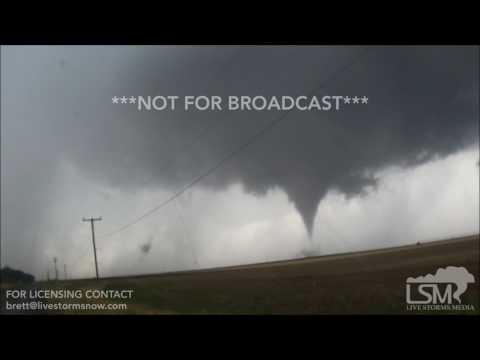 05-18-2017 Duke, Oklahoma - Tornado