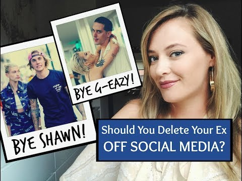 SHOULD YOU DELETE YOUR EX OFF SOCIAL MEDIA? Love Lessons From G-Eazy & Halseys Breakup!
