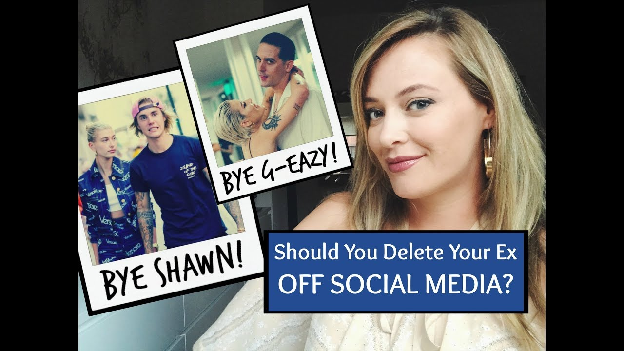 SHOULD YOU DELETE YOUR EX OFF SOCIAL MEDIA? Love Lessons From G-Eazy &  Halsey's Breakup!
