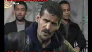 Ali bahar singing yuma warda during a tv interview
