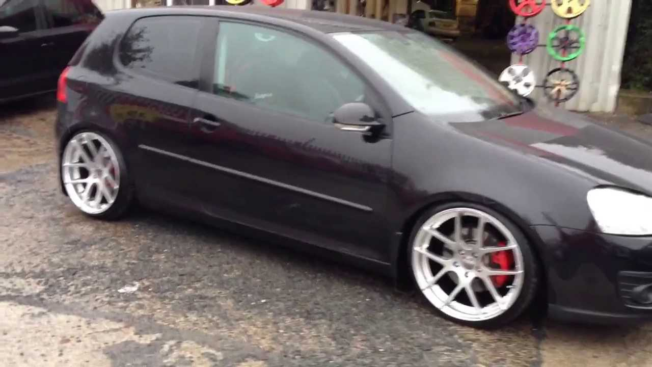 Vw Golf Tdi Custom Stainless Steel Exhaust Wheels