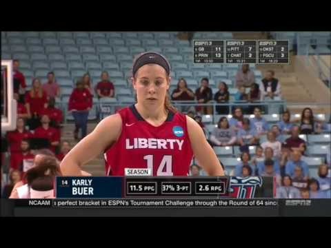 Liberty at UNC (NCAA First Round) (2014-15 Season)