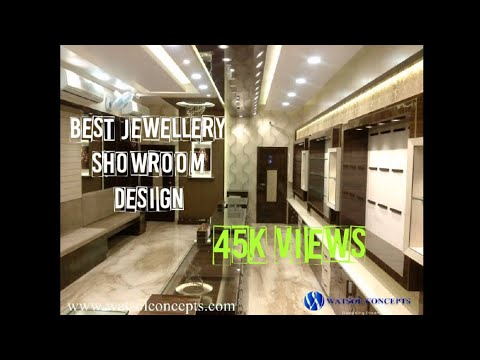 Watsol Concepts Jewellery Showroom Designs Youtube