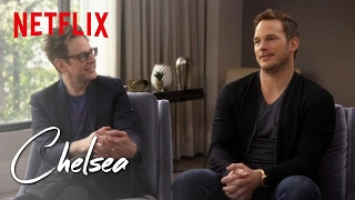 Guardians of the Galaxy's Chris Pratt and James Gunn (Full Interview) | Chelsea | Netflix