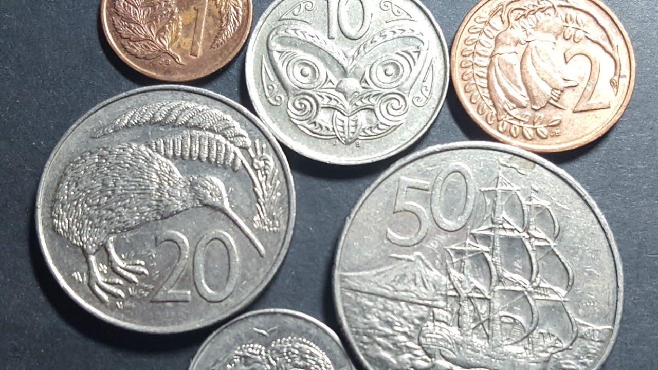 New Zealand Decimal Coins You