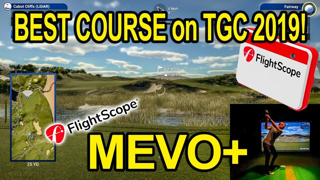 Tgc 2019 Best Course Using Flightscope Mevo Plus Youtube