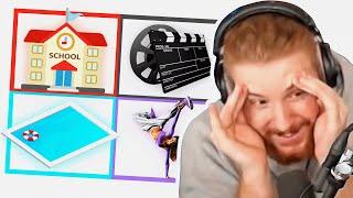 Unge REAGIERT auf 4 Bilder 1 YouTuber 🤯   ungeklickt