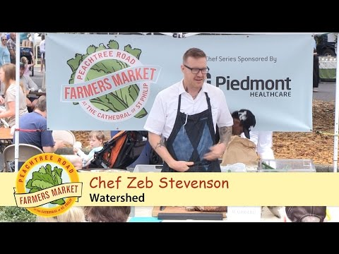 Chef Demo - Spring Onion Tartine