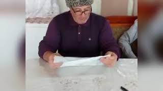 Финка НКВД из кованой стали Х12МФ с Унцукуль.Насечкой /ОТЗЫВ от нашего уважаемого клиента из Осетии