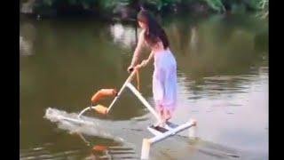 Super Cool invention 水上漂超酷的发明【良心视频】