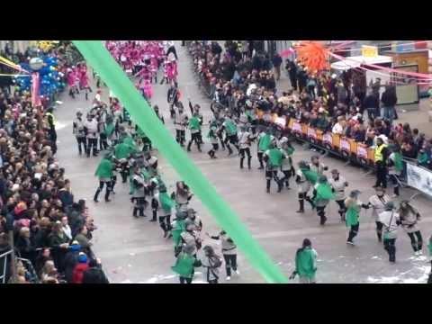 "Carnival 2014 in Rijeka, Croatia, group ""Wild dance"""