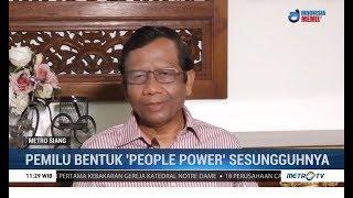 Mahfud MD: Pemilu Bentuk 'People Power' yang Sebenarnya