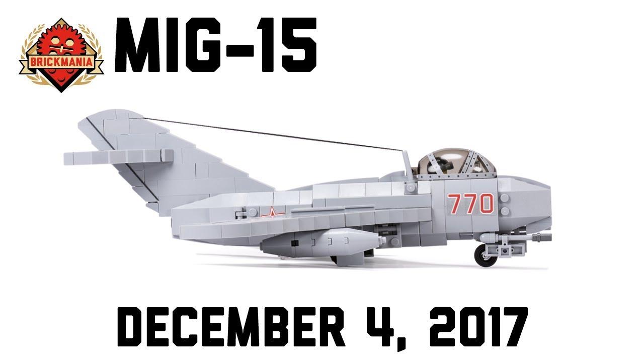 MiG-15 - Custom Military Lego - YouTube