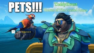 *NEW* ADORABLE PETS in Sea of Thieves!