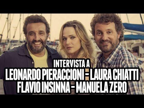IL PROFESSOR CENERENTOLO   Leonardo Pieraccioni, Laura Chiatti, Flavio Insinna e Manuela Zero