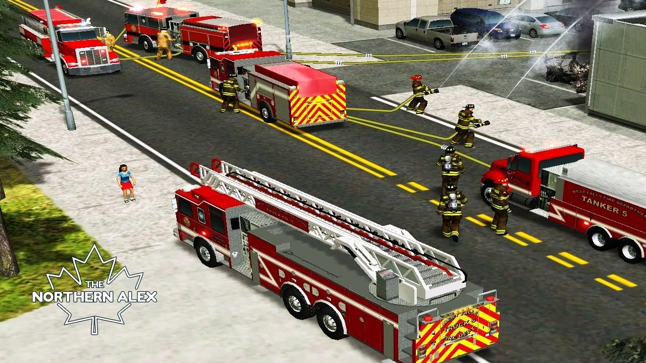 Emergency 4 | West Falls Township Modification 1 0 | PC Gameplay