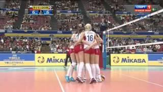 Волейбол  Женщины  Большой Чемпионский Кубок  Россия Доминикана  13 11 2013