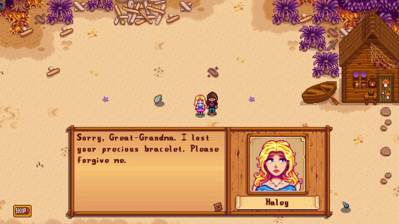 Stardew Valley - Haley's Bracelet