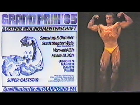 NABBA Austria Grand Prix 1985 - Competitors Introduction