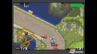 Racing Gears Advance Game Boy Gameplay - Vroom