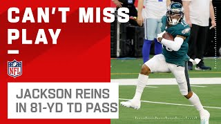 Jalen Hurts AIRS It Out to DeSean Jackson for 81-Yd TD!