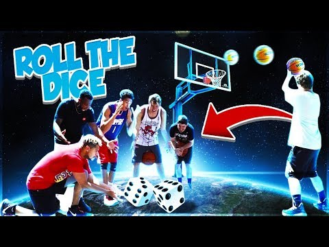 2HYPE ROLL THE DICE BASKETBALL CHALLENGE !!