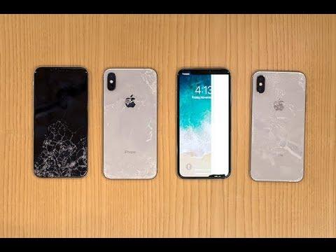 SquareTrade iPhone X Breakability