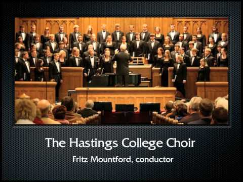 Stainer: Sevenfold Amen (The Hastings College Choir)