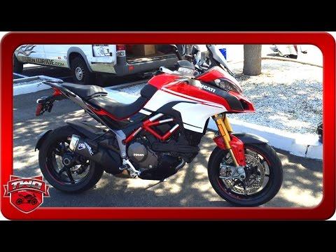 2016 ducati multistrada 1200 s pikes peak motorcycle review - youtube