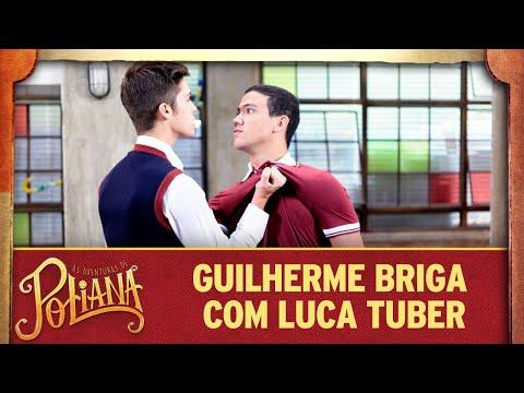 Guilherme briga com Luca Tuber no colégio | As Aventuras de Poliana