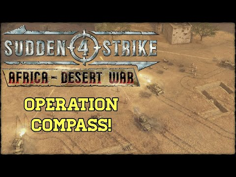 Retaking Sidi-Barrani, December 1940 | Sudden Strike 4 (Africa - Desert War) |