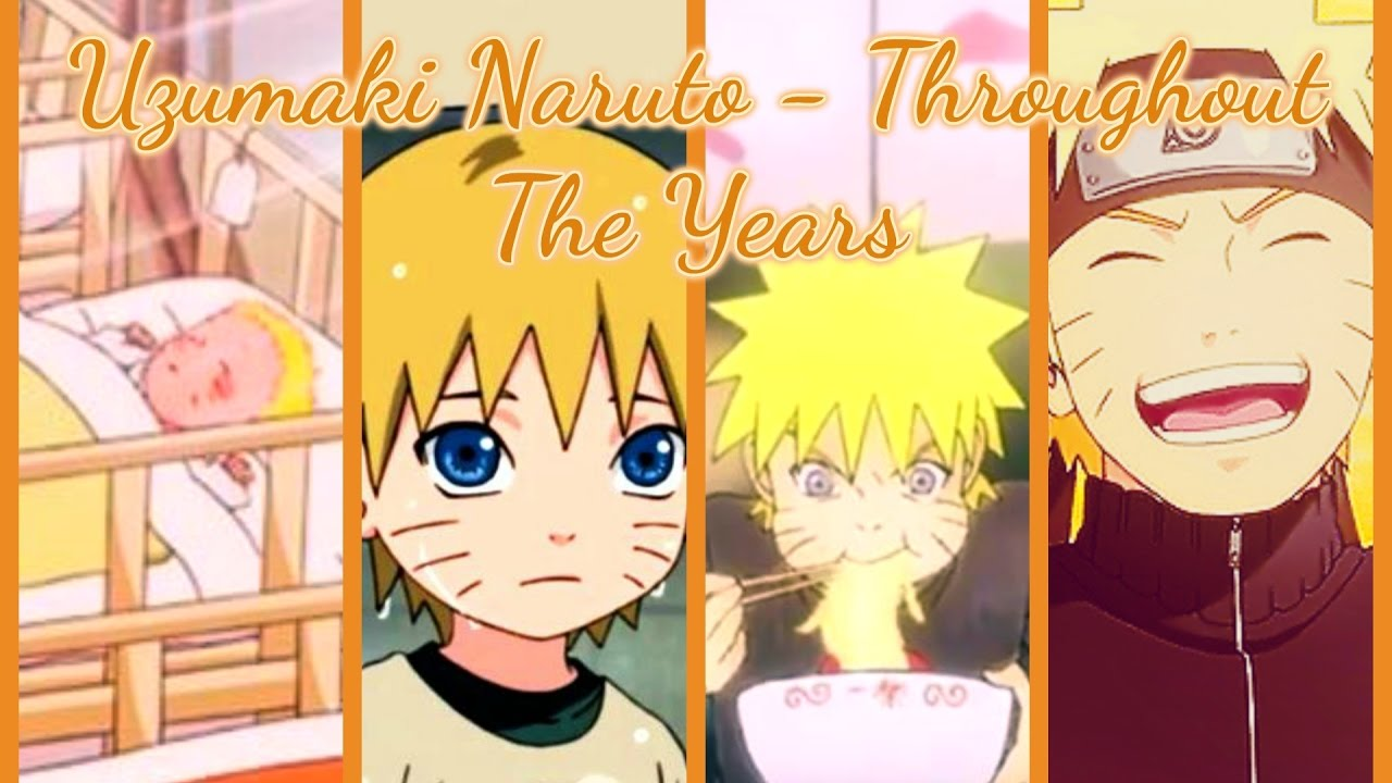 Naruto Uzumaki: Growing Up Throughout The Years