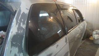 Как снять заднее стекло. Mazda MPV.