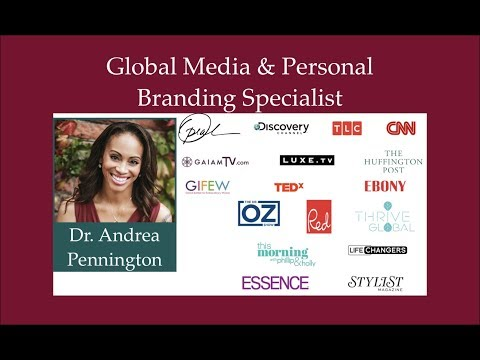 Media Training + Personal Branding + Communication Strategy with Dr. Andrea Pennington | Authentic