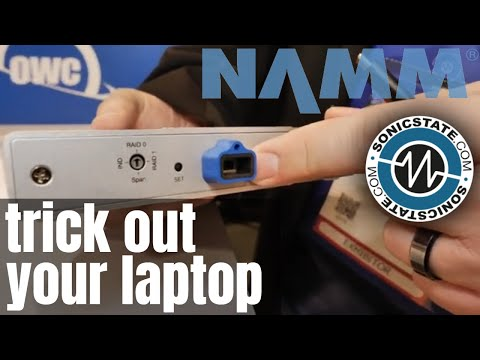 Namm 2019 Trick out your Computer with OWC
