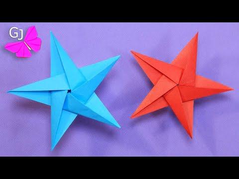 Как сделать звезду из бумаги / Origami Star