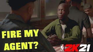 FIRE MY AGENT BECAUSE OF WEAK SHOE DEALS?  - NBA 2K21 MY CAREER EP 5