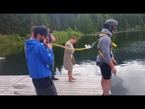 Bungee Jump Prank on Bachelor Party (no music)