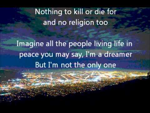Connie Talbot Imagine Lyrics