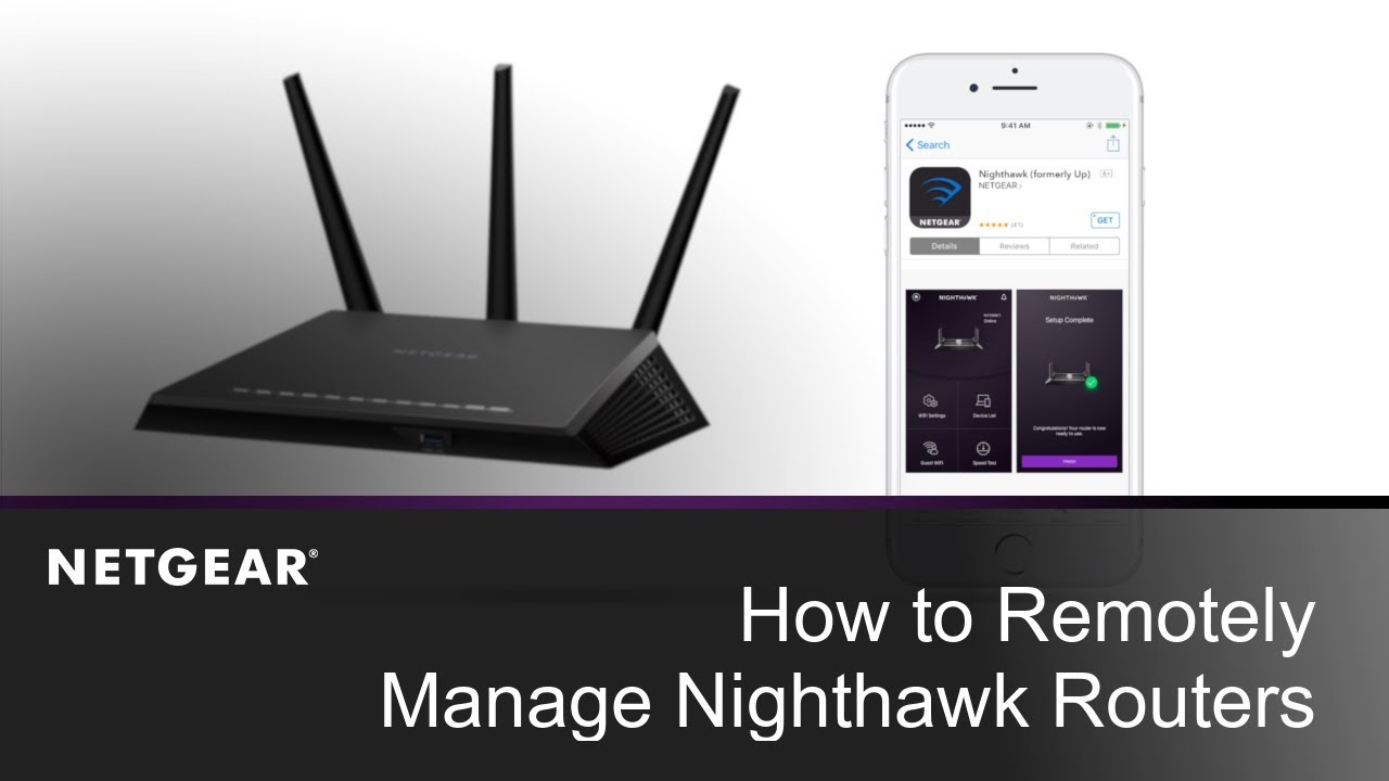 How to Remotely Manage Your Router Using the Nighthawk App | NETGEAR
